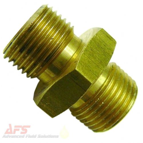 1 - 3/8 Brass BSP Coned Male Union